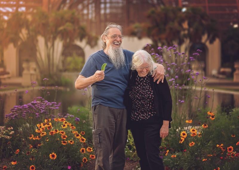 Engagement & Couples Photography - photo of couple laughing at balboa park - Temecula California Engagement & Couples Photographer