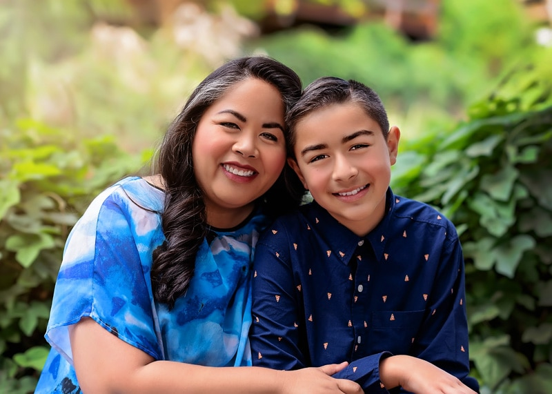 Family Photography - mother and son picture - Temecula California Family Photographer