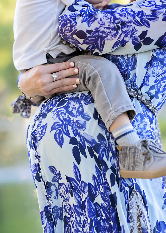Maternity Photography - detail shot of mamma holding little boy - Temecula California Maternity Photographer