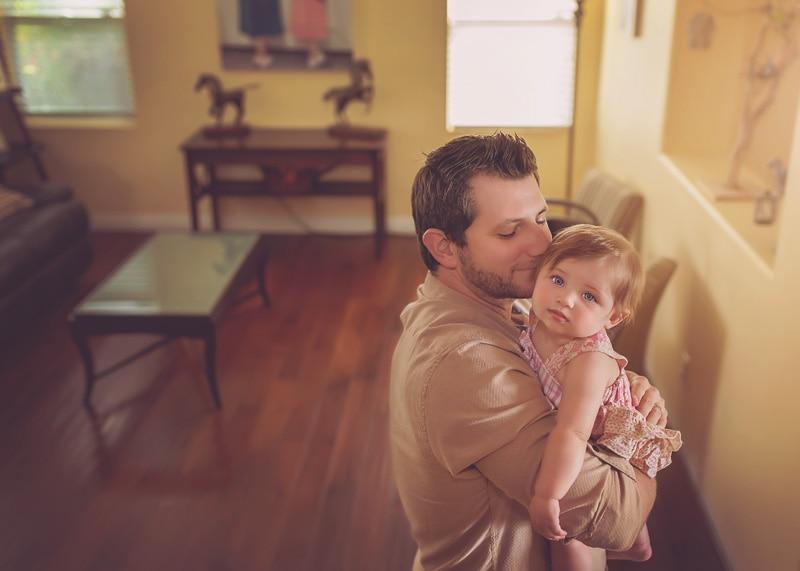 Lifestyle Photography - daddy holding up little girl - Temecula California Lifestyle Photographer