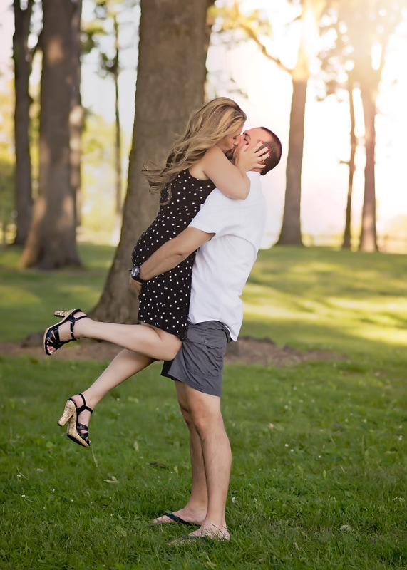 Engagement & Couples Photography - husband holding up his wife - Temecula California Engagement & Couples Photographer