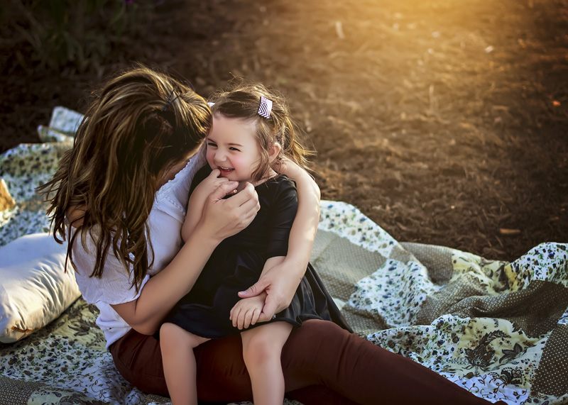 Family Session, Child Session – Tracy Lyn with Daughter
